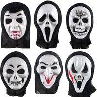 The Dead God Is Coming, Single Piece of Horror Scream Festival Ghost Face Halloween Bleeding Devil Mask