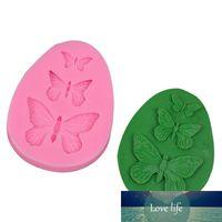 3D Stampo in silicone Farfalla a forma di torta fondente muffa muffa sapone muffa di sapone bakeware cucinare strumenti di cottura zucchero biscotto gelatina decorazioni di budino