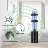 Car Air Freshener Rechargeable UV Sterilizer Light Bulb Germicidal Lamp In Addition Mite Lights Ozone Sterilization Ultraviolet