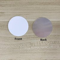 38mm discs Blank Aluminum Sublimation Insert for Customized car mount cell phone holder grip Stand cellphone Holders