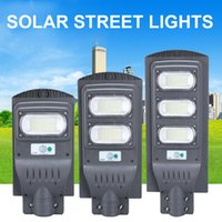 Sollampor LED Street Light 30W 40W 60W 8W0 90W 120W 160W Hög ljusstyrka 5730 LED IP65 Outdoor Solar Flood Light