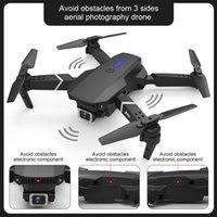 E525 Pro RC Quadcopter Profissional Obstáculo Evitar Drone Câmera Dual 1080P 4K Corrida Altura Mini Dron Helicóptero Brinquedo