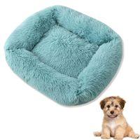 Kennels Pens Square Super Soft Dog Dog Bed Cave Pelush Cat Mop Camas para perros grandes Puppy House Nest Cushion PET ACCESORIOS DE PRODUCTOS