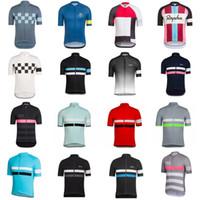 2019 Rapha Bisiklet Jersey Yaz Nefes MTB Bisiklet Giyim Yarış Bisiklet Gömlek Kısa Kollu Maillot Ciclismo K012436 Tops
