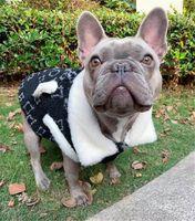 أسود المخملية جاكيتات تيدي شنافير كلب صغير المزدوج الكلب الفاخرة معاطف في الرياضة أعلى جودة اللباس مصمم الملابس