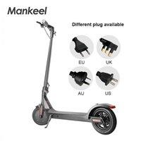 Mankeel EU на складе переднего колеса 36V 350W 8,5 дюйма портативный и складной электрический скутер со светодиодным дисплеем MK042