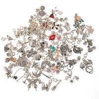 Cartoon Charms Email Mix Antike Silber Charm Anhänger Perlen Für das Handwerk Halskette Armband Baumeln Schmuckherstellung