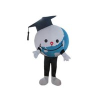 Professionnel Terre Globe Mascotte Costume Mascotte Halloween Fantaisie Fantaisie Fantaisie Cartoon Caractère costume Carnival Unisexe Adultes Outfit