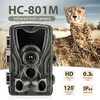 Cellular Hunting Trail Camera Wildlife Infrared Cameras 2G MMS SMTP SMS Photo Traps Surveillance HC801M 16MP 1080P Night Vision