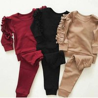 Clothing Sets US Toddler Baby Kids Girl Clothes Top T-shirt Pants Leggings Outfits 2PCS