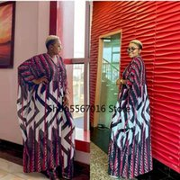 Ethnic Clothing Two Piece Pants Set Outfits African Clothes Print Dresses For Women 2021 Summer Fashion Robe Suit Long Maxi Dress Sets Plus