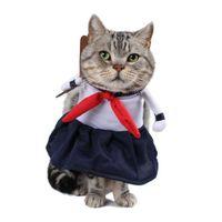 Костюмы школьные девочка платье косплей костюм для домашних животных веселая одежда для одежды кошка одежда ROPA PARA GOTO S-XL