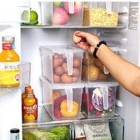 Storage Boxes & Bins Kitchen Transparent PP Box Grains Beans Contain Sealed Home Organizer Food Container Refrigerator SN5108 JKEZ