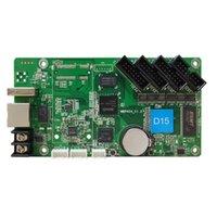 HD-D15 (обновленный HD-D10) Asynchronous 640 * 64Pixels с 4 * HUB75 полноцветным светодиодным дисплеем видео управления видео