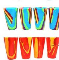 New4 Colors 450ML камуфляж силиконовые красные бокал стеклянные чашки пива стекло складной силиконовые пивные чашки пивной кофе кофе кружка EWA5265
