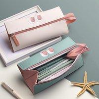 Pencil Bags Case Cases Cute Korean Stationery 2021 Pen Bag Pouch Material Escolar Kawaii School Supplies High Capacity Scuola