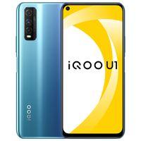 "Original vivo IQOO U1 4G Mobiltelefon 6GB 8 GB RAM 128 GB ROM Snapdragon 720g Android 6.53 ""48MP AR Fingerabdruck-ID Gesichtswege Smart-Handy"