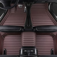 Tapis de plancher de voiture pour Toyota Land Cruiser Prado Prius Sienna Venza Venza Vios 2000 - 2020 Accessoires de voiture Tapis Alfombra