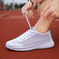 Cycling Footwear Running Shoes For Women Pink Purple Girls Walking Mesh Breathable Jogging Light Woman Sneakers