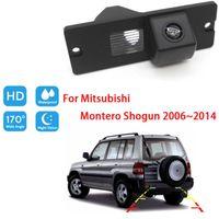 Car Rear View Cameras& Parking Sensors Reversing CameraFor Mitsubishi Montero Shogun 2006~2014 CCD Full HD Night Vision Backup Camera Waterp