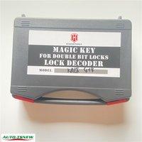 Haoshi Tools Safe Magic Key KALE 4+4 Double Bit Locks Key Decoder Master Key Set