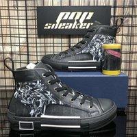 Top Quality Men Women B22 B23 Oblique Casual Shoes Luxury Designers Sneaker Technology Leather Canvas Breathable Outdoor Platform Fla leslie