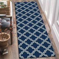Cozinha de piso comprido esteira não-deslizamento absorvente impressão em xadrez de porta esteira de porta do banheiro Entrada ao ar livre corredor CORORMAT Área lavável tapetes