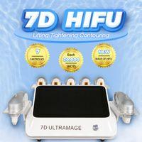 hifu body skin tightening home device 7D hifu ultrasound face massage lift machine Equipped detailed user manual