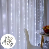 Strings LED Fairy Lights String Garland Festoon Curtain Lamp Remote Control USB Christmas Decoration For Home Natal