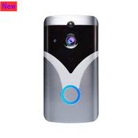 M20 HD Kablosuz Wifi Akıllı Video Interkom Kapı Zili Cameraip Kapı Bell Uygulaması Uzaktan Monitör Ev Güvenliği
