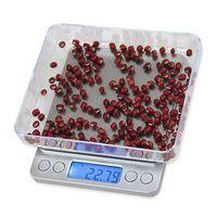 Haushaltswaagen 2000g / 0.1g LCD Tragbare Mini Elektronische Taschenhülle Postschmuck Gewichtsbilanz Digitalwaage Küchenwerkzeuge DHL XL8B