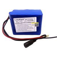 HK Liitokala 12v 2200mAh 3000mAh 6800mAh 9800mAh 10AH 18650 LI-LON DC 12V Draagbare Super Oplaadbare Batterij Pack Blue PVC