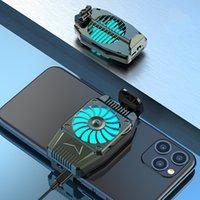 ミニポータブル電話ホルダーの冷却ファンプレイゲームスマートフォンのクーラーの携帯電話のラジエーターブラケットUSBの充電
