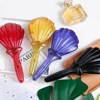 Hair Brushes Cartoon Cute Massage Comb Color Styling Shell Salon Anti-static Barber Accessories