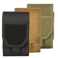 Molle Tactical Holster Army Camo Camouflage Bag Bag Gancio Cintura Cintura Custodia per custodia per custodia per il telefono cellulare