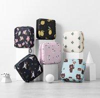 파티 호의 꽃 인쇄 화장품 가방 인쇄 귀여운 동물 패턴 메이크업 가방 냅킨 저장 코인 지갑 Nha9304