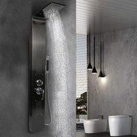 Łazienka Zestawy prysznicowe LED Licht Douche Kraan Badkamer Spa Masaż Jet Kolom Systeem Waterval Regendouche Panel Bidet Sproeier Tap