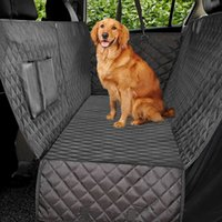 الفاخرة مبطن السفر الكلب rier سيارة مقعد مقعد غطاء للماء الحيوانات الأليفة أرجوحة حصيرة وسادة حامي