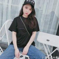 Crosin Factory Factory Hong Kong crosin short sleeve orange sword 2020 New Unisex ch loose medium length T-shirt