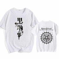 2021 Hot anime Black Butler Topps O-Neck Hip Hop Print Fashion T-shirt Y0809