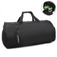 Waterproof Gym Bag Fitness Training Sports Portable Shoulder Travel Independent Shoes Storage Sac De Sport1