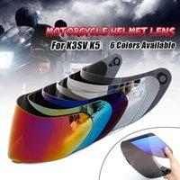 Visor de casco para Agv K5 K3 SV Casco de motocicleta Piezas de escudo Piezas originales para AGV K3 SV K5 Motorbike Helmet Lens Cara completa