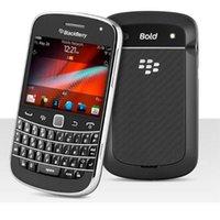 Renovierte Original-Telefone Blackberry 9900 Azerty QWERTY-Tastatur 2,8-Zoll-WiFi GPS 5.0mp-Handy