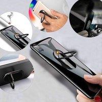 Porte-téléphone portable Supports de porte-cigarettes USB Rechargeable Briquet mobile Bague 180 Rotation Multifonctionnel Desktop Car Smartphone Brackke