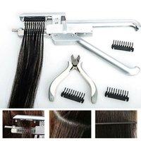 Extensions de cheveux 6D Machine Kit Tool Applicateur Pistolet première génération utilisée