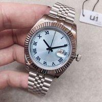 U1 ST9 luxury watch Ice Blue Roman Dial 41mm 126333 126334 Automatic Mechianical Wristwatches Jubilee Strap Sapphire Datejust Movement Mens Watches