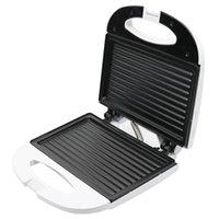 Ekmek Makineleri Elektrikli Mini Sandviç Makinesi Izgara Panini Kahvaltı Makinesi Barbekü Biftek Kızartma Fırın ABD Fiş