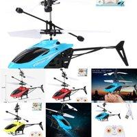 Dropshipping Helikopter UFO RC Drone Uzaktan El Algılama Uçak Elektronik Model Quadcopter Flayaball Oyuncaklar Drohne IŞIK İÇİN KÜÇÜK