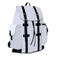 Высококачественная кожа Christopher рюкзак рюкзак люкс дизайнер knaxack мужчины женщин классические цветы клетки школьный мешок