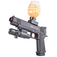 M1911 Elektrische Burst Automatische Wassergel Kristall Bombierkugel Spielzeug Coole Gun Pistole für Erwachsene Jungen CS Kämpfe im Freien Spiel